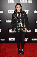 HOLLYWOOD, CA - OCTOBER 23: Alanna Masterson at AMC Presents Live, 90-Minute Special Edition of 'Talking Dead' at Hollywood Forever on October 23, 2016 in Hollywood, California. Credit: David Edwards/MediaPunch