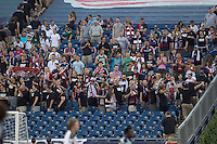New England Revolution Fans leave early in the match in protest. In a Major League Soccer (MLS) match, the Philadelphia Union defeated the New England Revolution, 3-0, at Gillette Stadium on July 17, 2011.