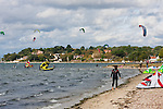 Poole Harbour Kite Surfing in October