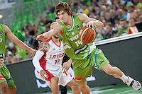20140821: SLO, Basketball - Telemach Tournament, Slovenia vs Iran