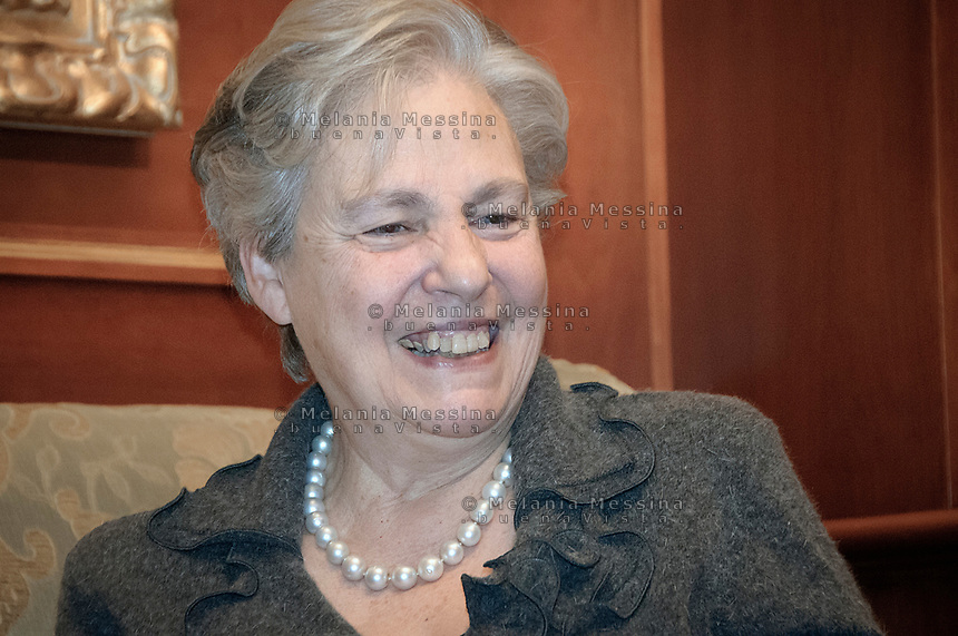 Palermo, Rita Borsellino, sister of the antimafia judge Paolo Borsellino killed by mafia, now she is the actual official centre left candidate for mayor for Palermo..Palermo, Rita Borsellino, attualmente candidata a sindaco di Palermo sostenuta dal PD e dal SEL.
