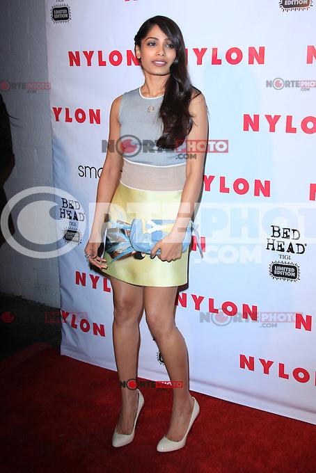Freida Pinto en la celebración Annivesary revista Nylon 13 en Smashbox Studios el 10 de abril de 2012 en West Hollywood, California. (Foto:*©mpi26/MediaPunch Inc./NortePhoto.com*) **SOLO*VENTA*EN*MEXiCO**