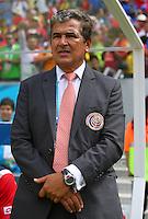 Costa Rica coach Jorge Luis Pinto