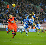 Football - Wigan Athletic v Bolton Wanderers - Sky Bet Football League Championship - DW Stadium - 13/14 - 15/12/13 Nick Powell - Wigan Athletic scores goal Mandatory Credit: Action Images / Paul Currie EDITORIAL USE ONLY