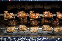 Peruvian pollo a la brasa