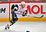 20 December 2008: Buffalo Sabres' defenseman Toni Lydman from Finland in action against the Montreal Canadiens in the first period at the Bell Centre in Montreal, Quebec, Canada. With both teams coming off wins, the Canadiens extended their winning streak by defeating the Sabres 4-3 in overtime. ***** Editorial Sales Only ***** Mandatory Photo Credit: Ed Wolfstein Photo