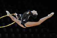 September 20, 2011; Montpellier, France;  DARIA KONDAKOVA of Russia performs with hoop at 2011 World Championships.
