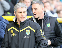 Norwich City Caretaker Manager Alan Irvine<br /> <br /> Photographer David Shipman/CameraSport<br /> <br /> The EFL Sky Bet Championship - Norwich City v Blackburn Rovers - Saturday 11th March 2017 - Carrow Road - Norwich<br /> <br /> World Copyright &copy; 2017 CameraSport. All rights reserved. 43 Linden Ave. Countesthorpe. Leicester. England. LE8 5PG - Tel: +44 (0) 116 277 4147 - admin@camerasport.com - www.camerasport.com