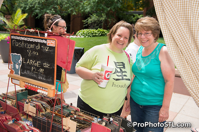 Westport Vintage Bliss Market at Westport Plaza in St. Louis, MO on June 21, 2014.