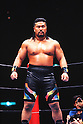 Kensuke Sasaki, AUGUST 5, 1996 - Pro-Wrestling :  Kensuke Sasaki is senn during the New Japan Pro Wrestling event in Japan. (Photo by Yukio Hiraku/AFLO)