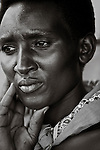 Portrait of Dorthee, Caretaker of the Rugerero Genocide Memorial in Rugerero Rwanda.