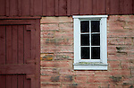 A historic barn on the 1900 Farmstead at Stonefield Historic Site. .Horse Drawn Days was held Saturday, June 12, 2010 at Stonefield Historic Site near Cassville, Wisconsin.