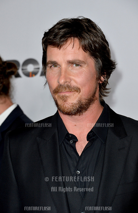 Christian Bale at the premiere for &quot;The Promise&quot; at the TCL Chinese Theatre, Hollywood. Los Angeles, USA 12 April  2017<br /> Picture: Paul Smith/Featureflash/SilverHub 0208 004 5359 sales@silverhubmedia.com