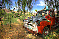 Peach Orchard International Truck<br />