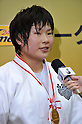 Akari Ogata (JPN), .MAY 12, 2012 - Judo : All Japan Selected Judo Championships Women's -78kg at Fukuoka Convention Center, Fukuoka, Japan. (Photo by Jun Tsukida/AFLO SPORT) [0003]