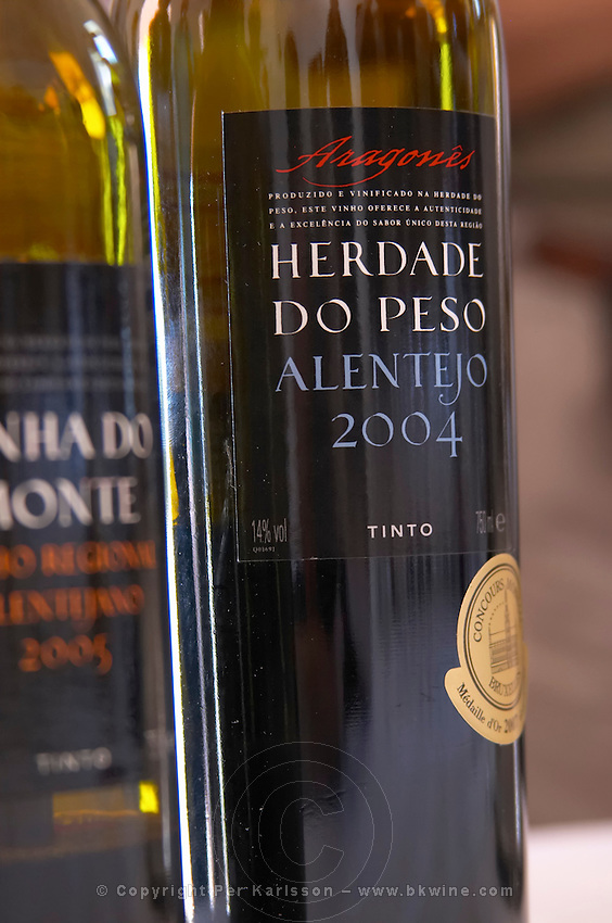 aragones 2004 tinto herdade do peso alentejo portugal