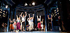 Sir Cameron Mackintosh's celebrates his 70th Birthday <br /> at the Noel Coward Theatre, London, Great Britain <br /> 17th October 2016 <br /> <br /> Sir Cameron watches from the side of the stage as the cast rehearse <br /> <br /> with the cast of Half a Sixpence <br /> <br /> singing him Flash, Bang, Wallop and Happy Birthday <br /> <br /> with a birthday cake in the shape of a banjo <br /> <br /> <br /> Photograph by Elliott Franks <br /> Image licensed to Elliott Franks Photography Services