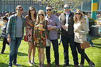 HOT SPRINGS, AR - MARCH 18: Fans stop to take a picture in the infield before the running of the Rebel Stakes at Oaklawn Park on March 18, 2017 in Hot Springs, Arkansas. (Photo by Justin Manning/Eclipse Sportswire/Getty Images)
