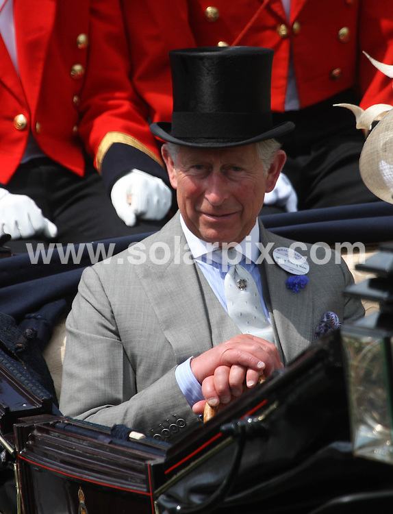 **ALL ROUND PICTURES FROM SOLARPIX.COM**.**NO UK NEWSPAPER PUBLICATION**.**UK MAGAZINE & SUPPLEMENT PUBLICATION ONLY** AND NO PUBLICATION IN AUSTRALIA, FRANCE, GERMANY, ITALY AND SCANDINAVIA** .The first day of Royal Ascot, Ascot racecourse, UK. 16 June 2009..This pic: Princess Charles and wife Camilla..JOB REF: 9257 SFE       DATE: 16_06_2009.**MUST CREDIT SOLARPIX.COM OR DOUBLE FEE WILL BE CHARGED**.**ONLINE USAGE FEE GBP 50.00 PER PICTURE - NOTIFICATION OF USAGE TO PHOTO @ SOLARPIX.COM**.**CALL SOLARPIX : +34 952 811 768 or LOW RATE FROM UK 0844 617 7637**