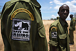 Anti-poaching patrol supported by Save the Rhino International, Mbirikani Group Ranch, Amboseli-Tsavo eco-system, Chyulu Hills, Kenya, Africa, October 2012