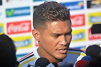 Selección Colombia preolímpica entrena rumbo Brasil 2016
