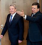 120417: Joachim GAUCK, President of Germany, meets José Manuel BARROSO, President of EU-Commission