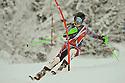 5/01/2014  slalom under 14 girls run 1