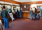 Visitors at Horton Vineyards' tasting bar.