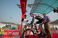 "David Millar, Garmin - #2 -17"" -- 2011 Tour of Beijing, Stage 1 ITT"