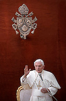 Pope Benedict XVI, General audience, summer residence of Castelgandolfo . August  8, 2012