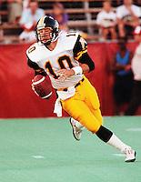 Todd Dillon HamiltonTiger Cats quarterback 1991. Copyright photograph Scott Grant