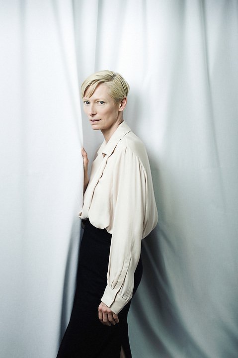 CANNES, FRANCE. MAY 12, 2011. Actress Tilda Swinton at the Cannes Film Festival. (Photo: Antoine Doyen)