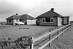 "Post war bungalows Upper Basildon Berkshire. The ""Old Forge"".1983"