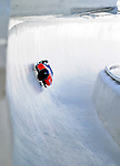 17 December 2010: Frank Rommel sliding for Germany, finishes in 5th place at the Viessmann FIBT Skeleton World Cup Championships in Lake Placid, New York, USA. Mandatory Credit: Ed Wolfstein Photo