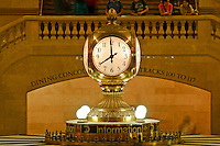 Clock. Grand Central Terminal, New York City, NY, interior