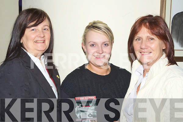 Catherine Quirke,Emma Quirke and Phil Smith who enjoyed the Samhlai?ocht 10th Film Festival in Siamsa Tire Tralee on Monday night.