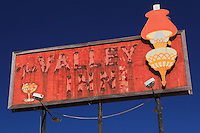 Valley Inn Sign - Kingsburg, CA - Highway 99