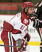 Kyle Criscuolo (Harvard - 11) - The Harvard University Crimson defeated the visiting Brown University Bears 3-2 on Friday, November 2, 2012, at the Bright Hockey Center in Boston, Massachusetts.