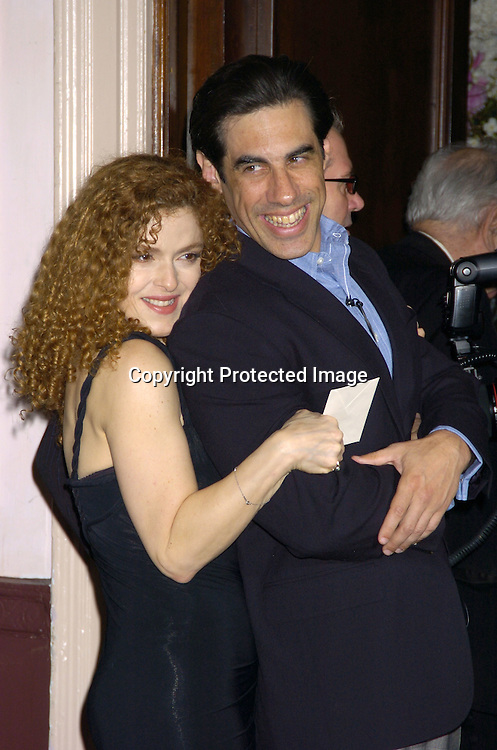 Bernadette Peters and husband