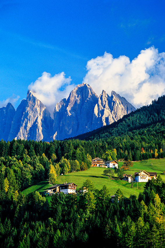 St. Peter (San Pietro), Dolomites, Northern Italy