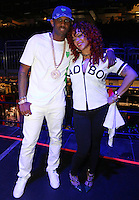 NEW ORLEANS, LA - JULY 3, 2016 Fabolous & Faith backstage at Essence Festival at Mercedes Benz Superdome, July 3, 2016 in New Orleans, Louisiana. Photo Credit: Walik Goshorn / Media Punch