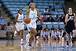 04 November 2015: North Carolina's Stephanie Watts. The University of North Carolina Tar Heels hosted the Wingate University Bulldogs at Carmichael Arena in Chapel Hill, North Carolina in a 2015-16 NCAA Women's Basketball exhibition game. UNC won the game 86-84.