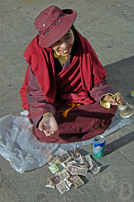 Street life and scenes in Lhasa, Tibet