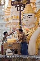 Myanmar, Burma, Shwedagon Pagoda