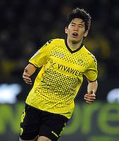 FUSSBALL   1. BUNDESLIGA   SAISON 2011/2012   23. SPIELTAG Borussia Dortmund - Hannover 96                        26.02.2012 Shinji Kagawa (Borussia Dortmund)