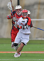 NCAA Men's Lacrosse: Keydets come from behind then hold on to defeat Highlanders 9-8