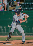 31 July 2016: Connecticut Tigers outfielder Sam Machonis in action against the Vermont Lake Monsters at Centennial Field in Burlington, Vermont. The Lake Monsters edged out the Tigers 4-3 in NY Penn League action.  Mandatory Credit: Ed Wolfstein Photo *** RAW (NEF) Image File Available ***