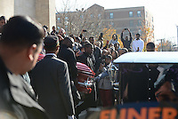 Funeral of Tyshawn Lee, 9, in Chicago (USA)