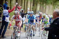 Liege-Bastogne-Liege 2012.98th edition..Joaquim Rodriguez on the Stockeu