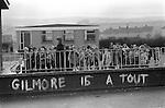 Raymond Gilmour supergrass graffiti. Londonderry 1983. The Creggan Estate 1983